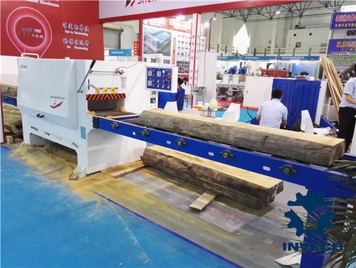 Multi Rip Circular Log Cutting Machine