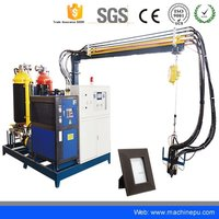 High pressure PU Polyurethane Foaming  Machine for Photo Frame