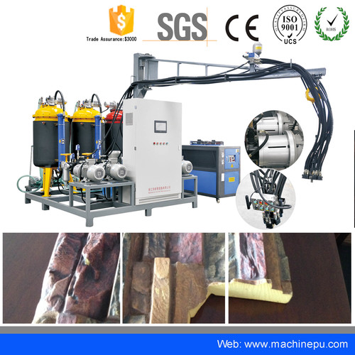 High pressure pu polyurethane Artificial Veneer Stone Master Panel making machine