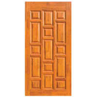 Wooden Plywood Panel Door
