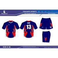 Dye sublimated jersey & short