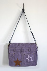 purple crossbody bag