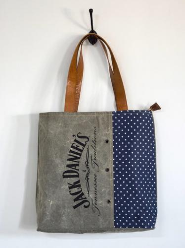 jack denial printed tote bag