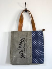 jack denial printed tote bag