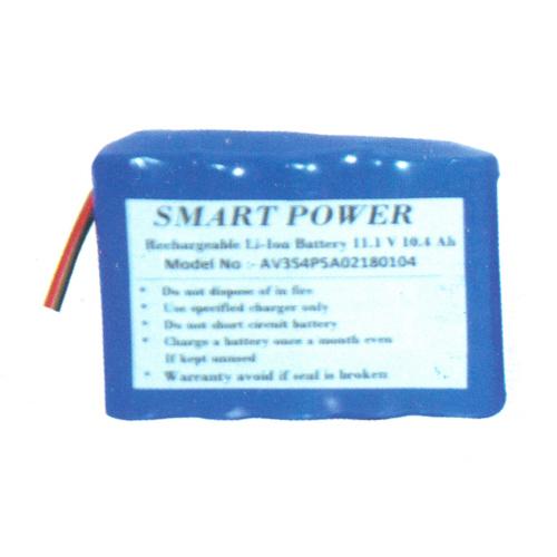 11.1 Volt 5.2Ah Li ion Battery Pack