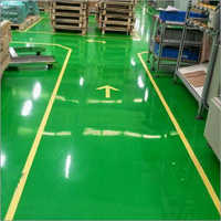 Green epoxy Flooring