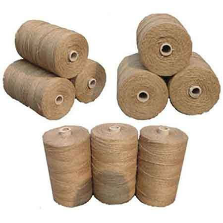 Brown Natural Jute Yarn