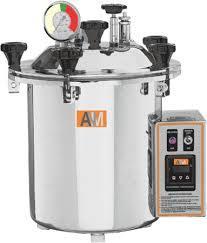Portable Steam sterilizer/ Autoclave, Semi Automatic