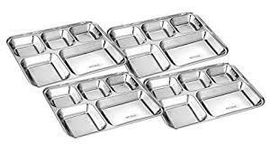 Stainless Steel Bhojan Plate