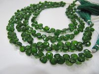 AAA Quality Natural Green Tourmaline 15-16mm beads