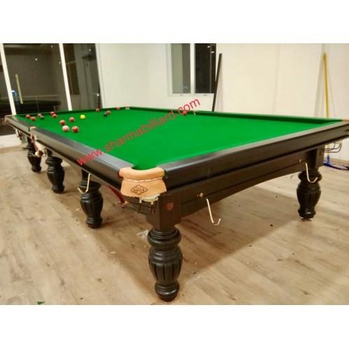 Snooker Table SHARMA S-2 WITH BILLIARDS SLATES Size 12X6 feet