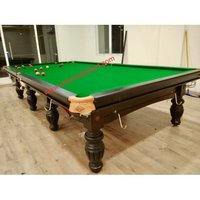 Snooker Table SHARMA S-2 WITH BILLIARDS SLATES Size 12X6 feet