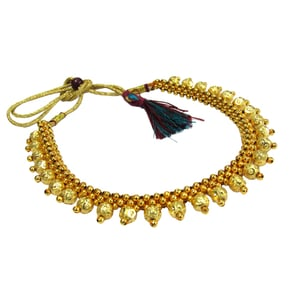Golden Ball Layer Thushi Necklace