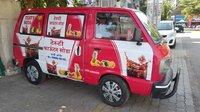 Mobile Soda Vending Machine