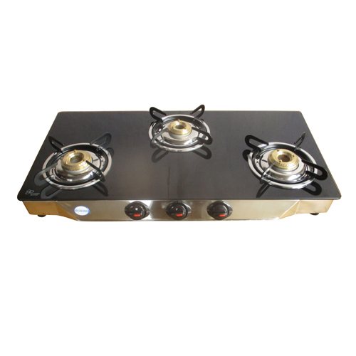Three Gas Burner