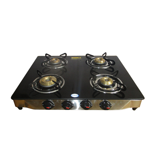 SS four Gas Burner