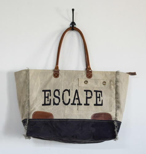 big size escape tote bag