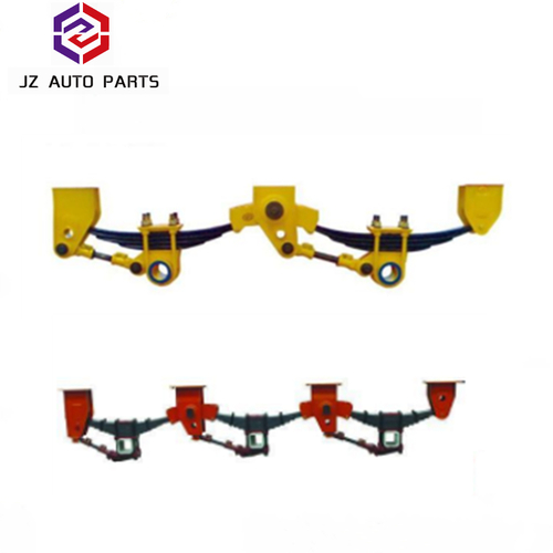 3 Axles American Type Mechanical Suspension