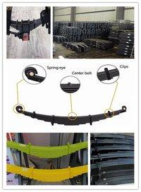 Trailer Leaf Spring Assembly For Truck Suspension