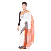 Formal Linen Sarees