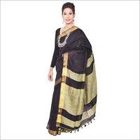 Women's Linen Sarees