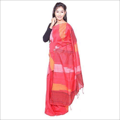 Silk Cotton Handloom Saree