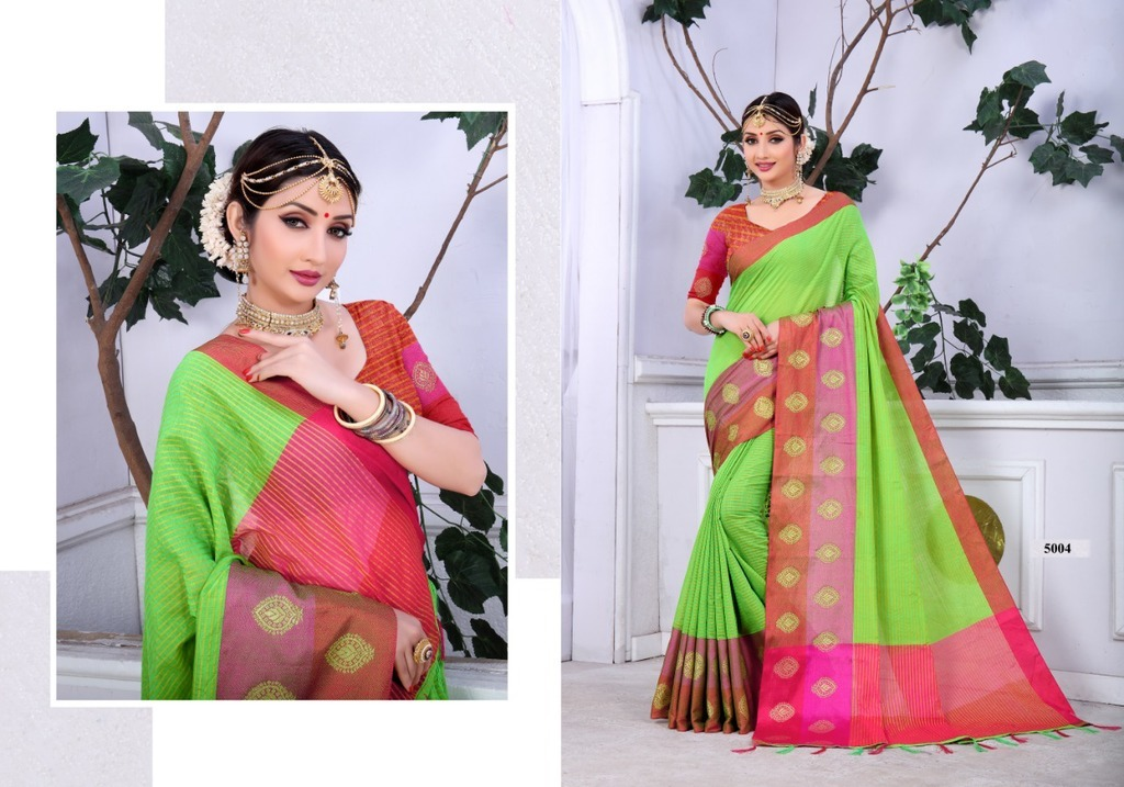 Latest Cotton silk Sarees