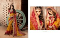 Fancy Georgette Bandhej Sarees