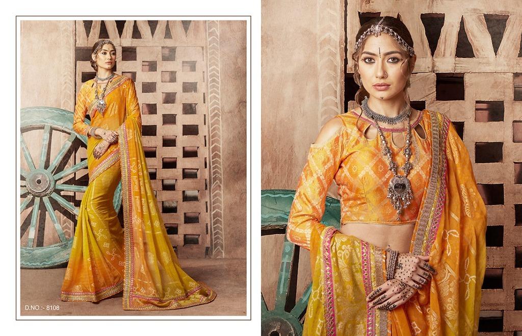 Bandhani Sarees Online