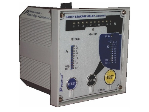 Earth leakage Relays, ELR96-1C/i, E:0.5A-5.0A