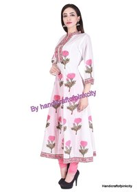 Hand Block Printed Cotton Kurti