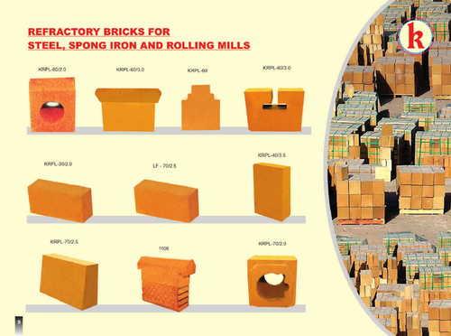 Refractory bricks for steel plant