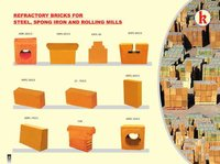 Refractory bricks for steel plant