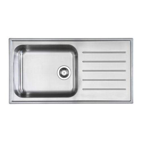 Drainboard Straight Sink