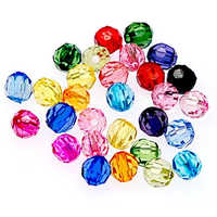 Colourful Acrylic Beads