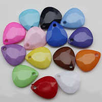 Heart Shape Acrylic Bead