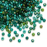 Facted Glass Seed Beads
