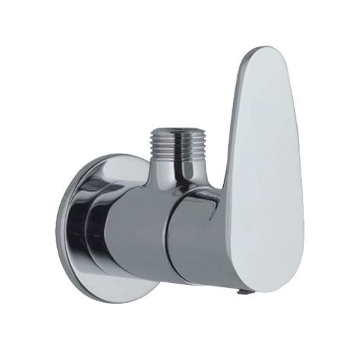 Angle Valve Vignette or Angular Stop Cock with  rectangular Wall Flange - HEAVY