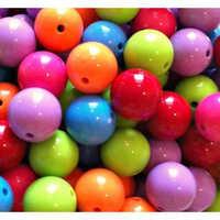 Multicolour Gumball Beads