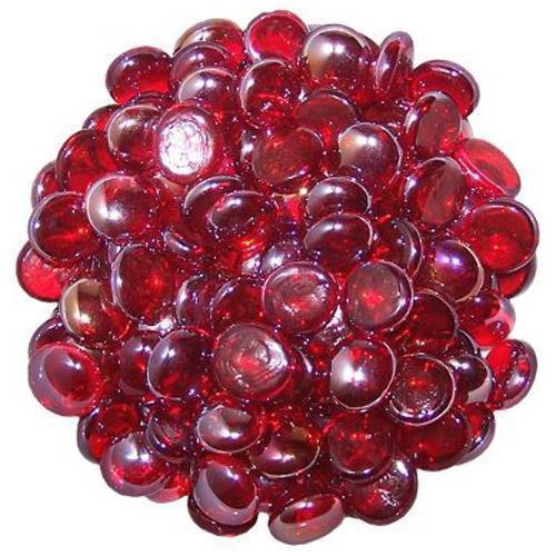Red Pebbles Stone Beads