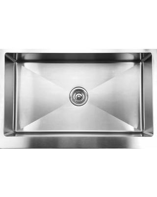 Straight Bowl kitchen sink