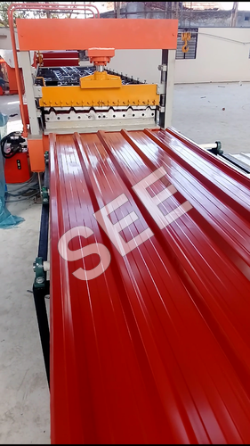 Color Coated Roof Sheet Making Machine