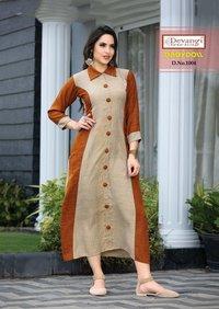 Women wear kurti