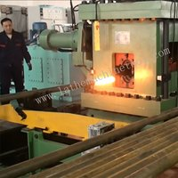 Tube End Forming Press for Upset Forging of Oil-pipes