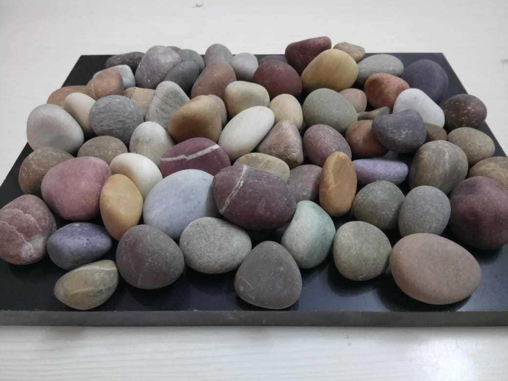 Garden Pathway or Walkway Multi Color Pebble Stone
