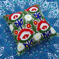 Handmade suzani embroidered square suzani Cushion Cover /pillow cases