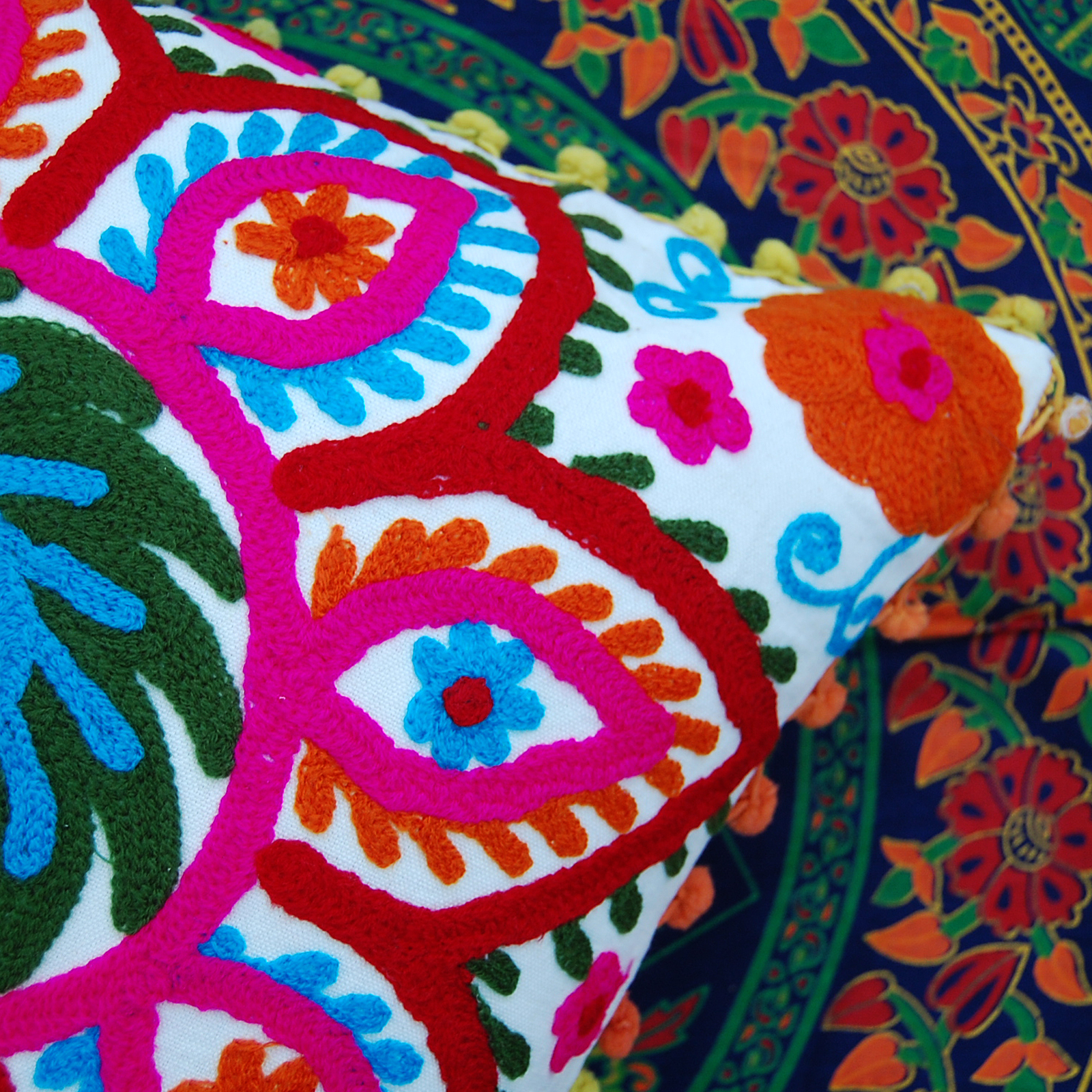 Indian Pillowcases 16x16