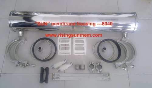 8040 Stainless Steel Membrane Pressure Vessels