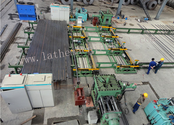 Pipe End Forming Press for Upset Forging of Oil Pipes Casing Tubing