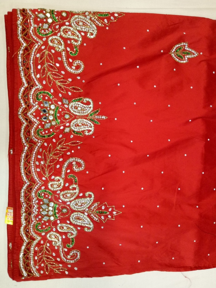 Embroidered African George Pure Silk Fabrics for wedding